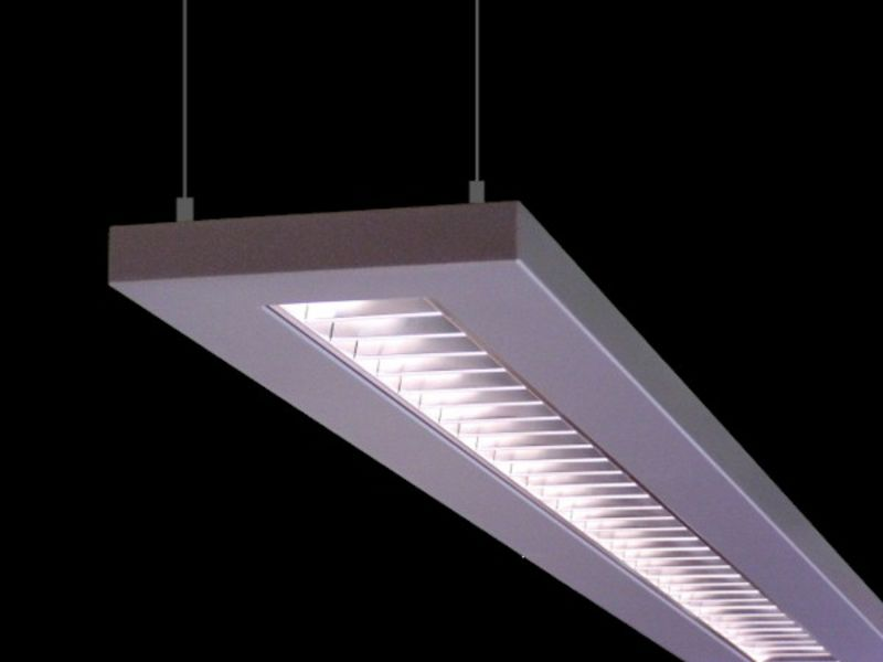 Light channels recessed surface mounted pendant for Suspente luminaire