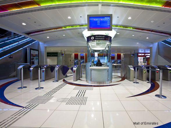 Art Line Uae : Dubai metro red line green lindner group