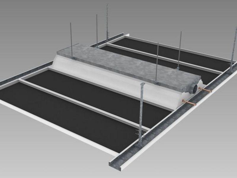 konvektoren chilled beams lindner group. Black Bedroom Furniture Sets. Home Design Ideas