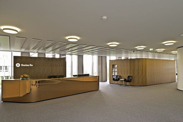 arabeska - Office Areas of Swiss Re