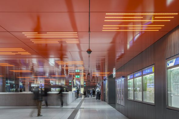 Modernisation of Underground Station Marienplatz