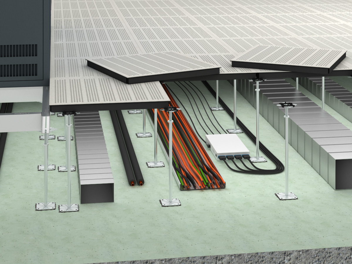 Ventec lindner group for Elevated floor