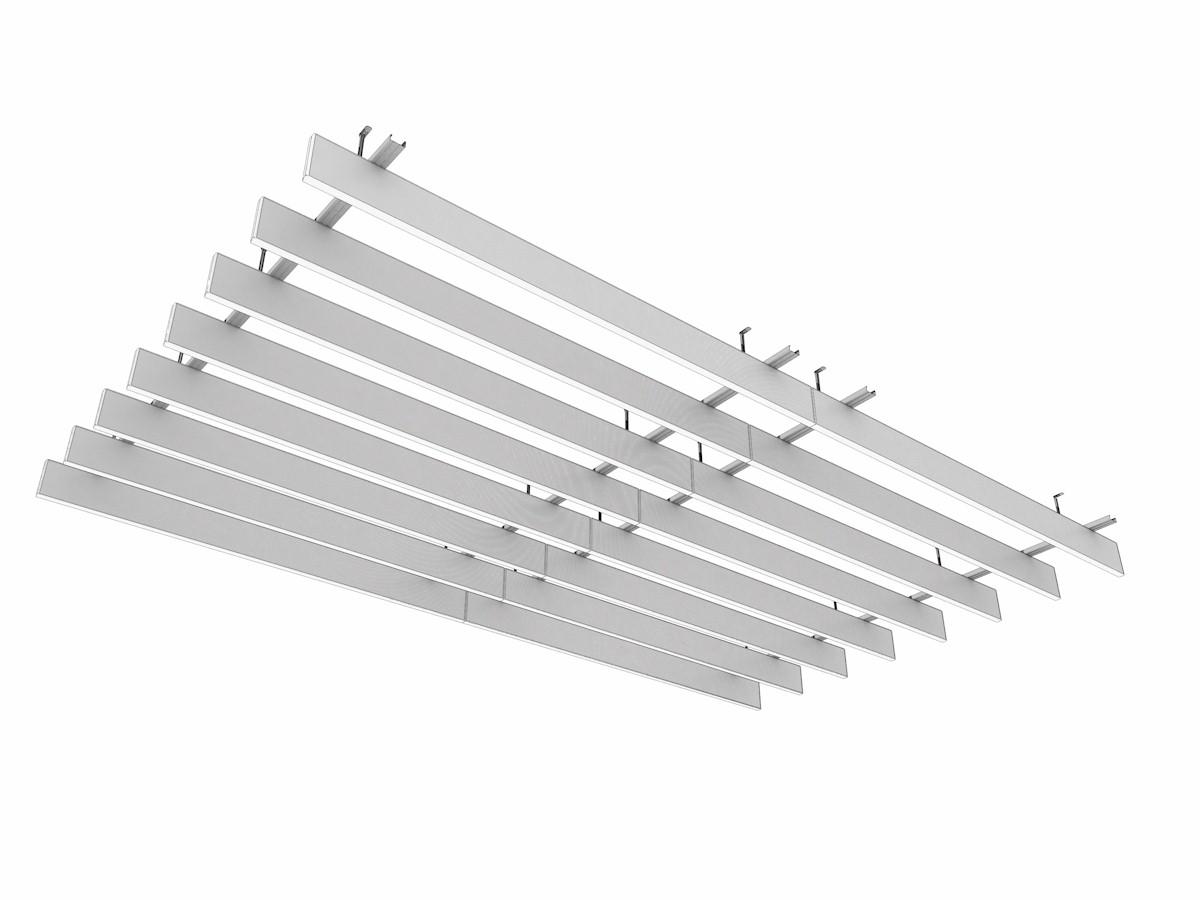 Metal Baffle Ceiling Suspended LMD L 601