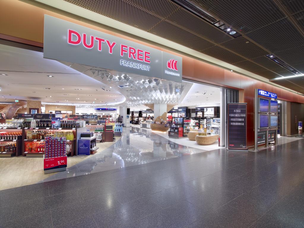 Heinemann Duty Free Shop Frankfurt Airport | Lindner Group