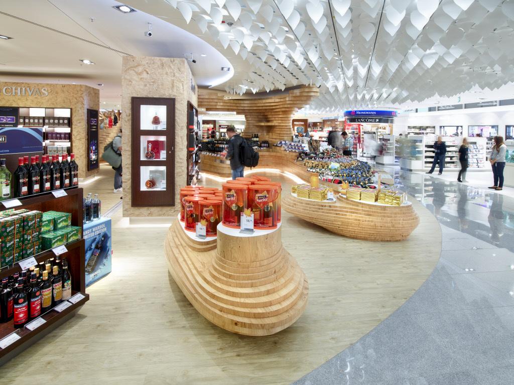 heinemann duty free shop frankfurt airport lindner group. Black Bedroom Furniture Sets. Home Design Ideas