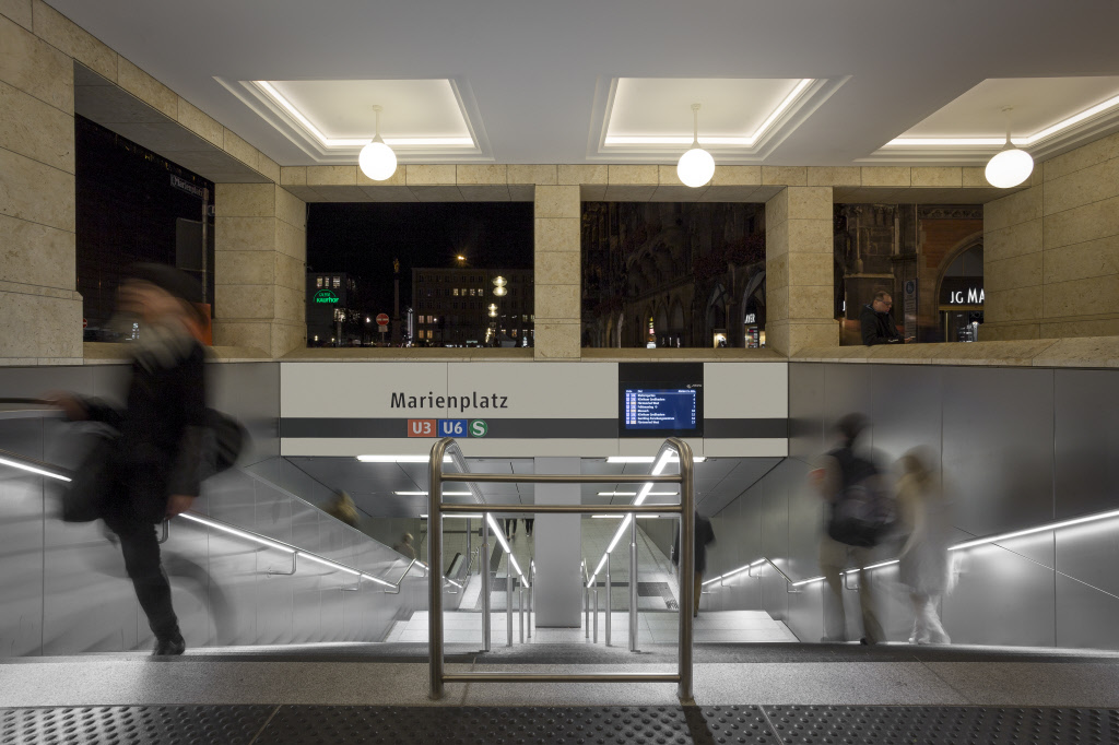 Modernisierung U Bahnhof Marienplatz Lindner Group