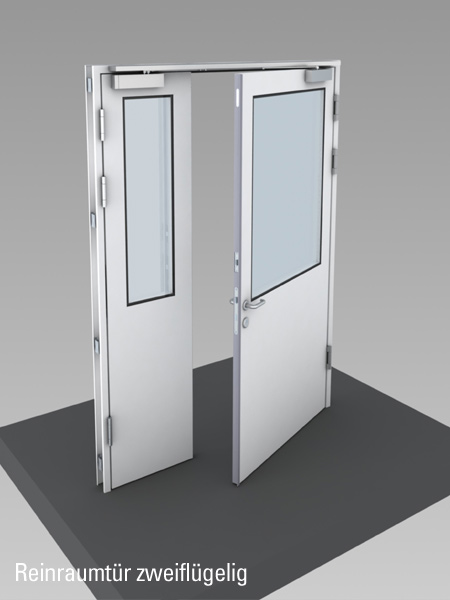 Clean Room Door & Clean Room Partitions and Doors | Lindner Group