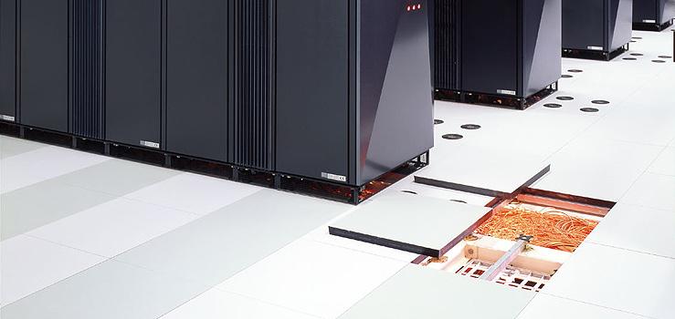 Server Room Floor : Doppelboden nortec lindner group