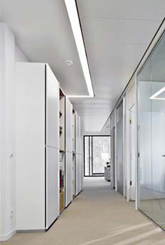 heated and chilled corridor ceilings lindner group. Black Bedroom Furniture Sets. Home Design Ideas