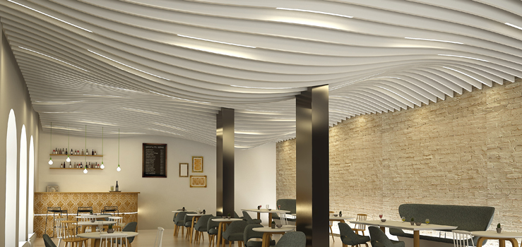 Baffle Ceilings Lindner Group