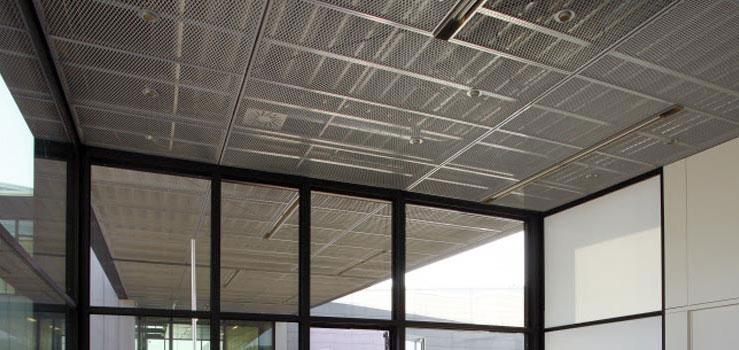 Expanded Metal Ceilings Lindner Group