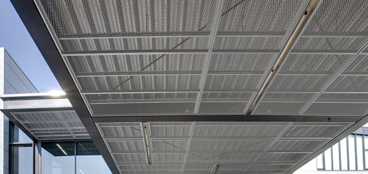 Expanded Metal Ceilings Lindner Group